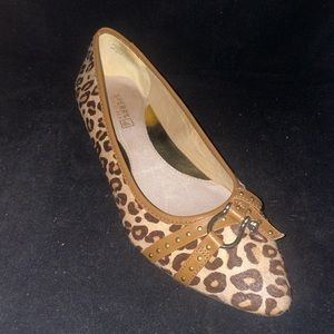 Sperry Linden CalfHair Flat Shoe 7.5-1 Shoe Avail